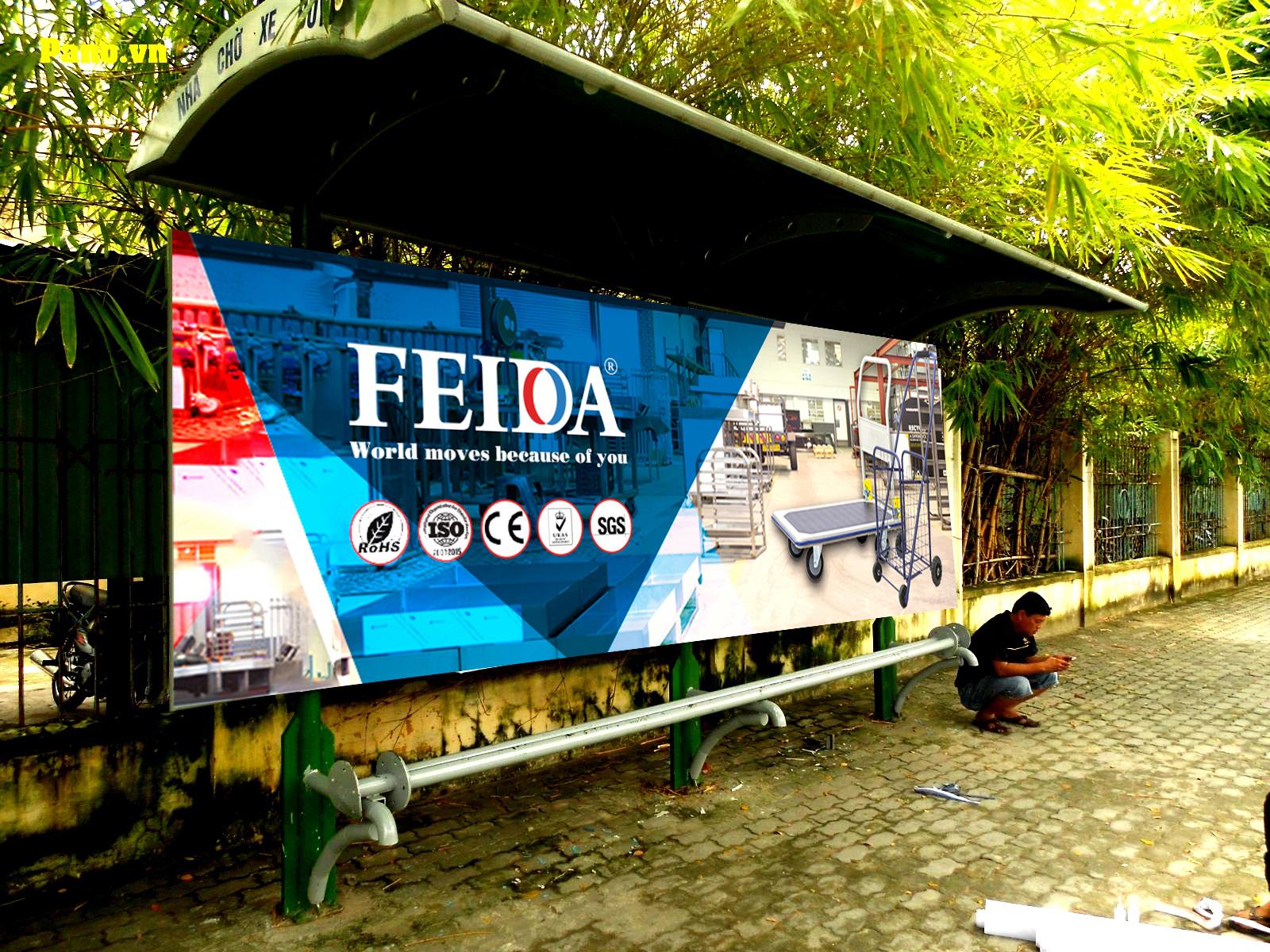 Xe đẩy hàng Feida chính hãng và đặc điểm khác biệt để nhận biết