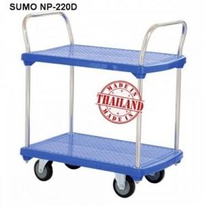 Xe đẩy hàng sàn nhựa SUMO Thái Lan NP-220D
