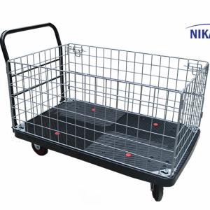 Xe đẩy hàng sàn nhựa Nikawa  WFA-600Y-LS